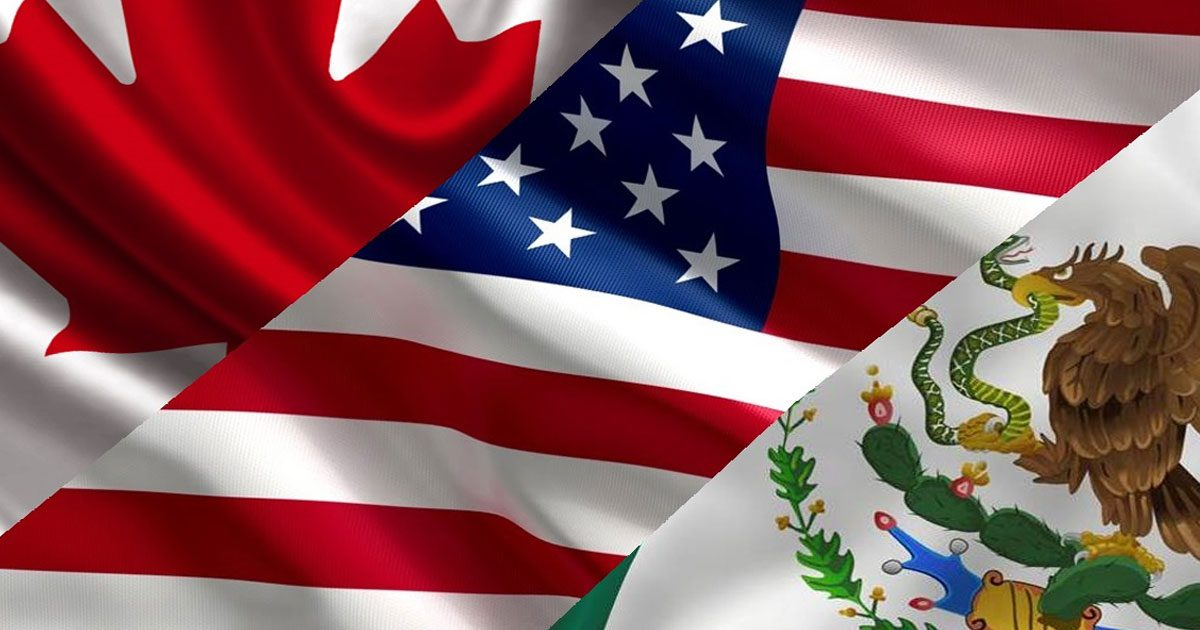 ORIGEN DEL TRATADO DE LIBRE COMERCIO TLCAN (TRATADO DE LIBRE COMERCIO DE AMÉRICA DEL NORTE) NAFTA (NORTH AMERICAN FREE TRADE AGREMENT)