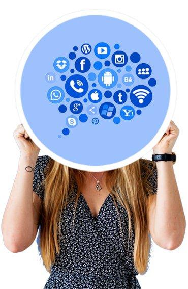 varias redes sociales